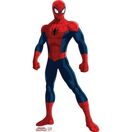 Advanced Graphics Spider-Man - Ultimate Spider-Man Cardboard - Spiderman Cutout