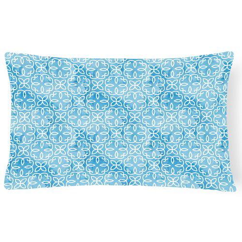 Zoomie Kids Tenley Watercolor Geometric Cirlce Indoor/Outdoor Throw Pillow