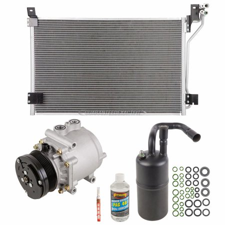 For Mercury Grand Marquis A/C Kit w/ AC Compressor Condenser & Drier Mercury Grand Marquis A/c Condenser