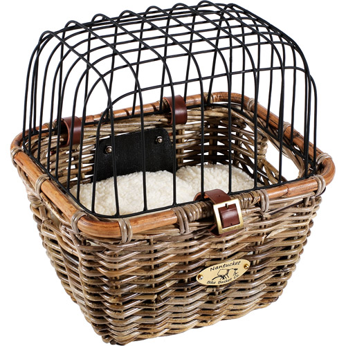 Nantucket Bicycle Basket Co. Tuckernuck Collection Bicycle Pet Basket