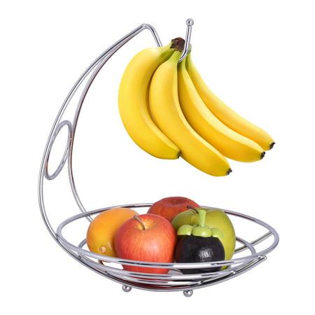 - The Kitchen Sense Chrome Wire fruit bowl and Banana Holder