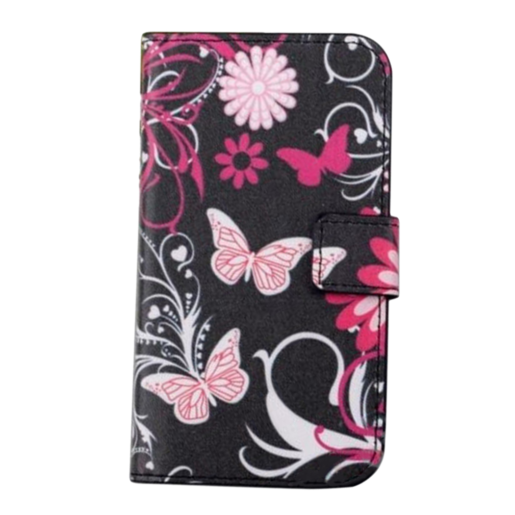 Wallet Stand Case Cover Colorful Flip PU Leather Craft For Samsung Galaxy S3