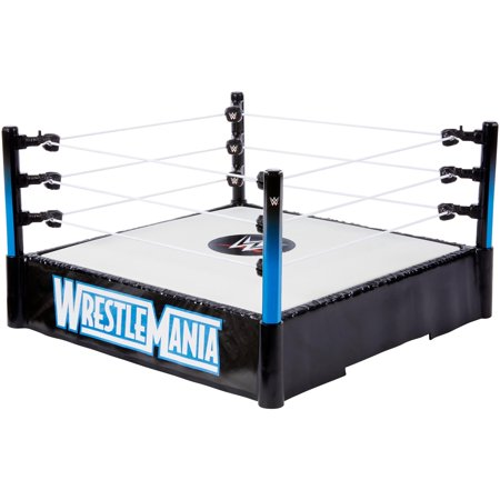 WWE Wrestlemania Ring with Pro-Tension Technology & Spring Loaded Mat - Wwe Hornswoggle