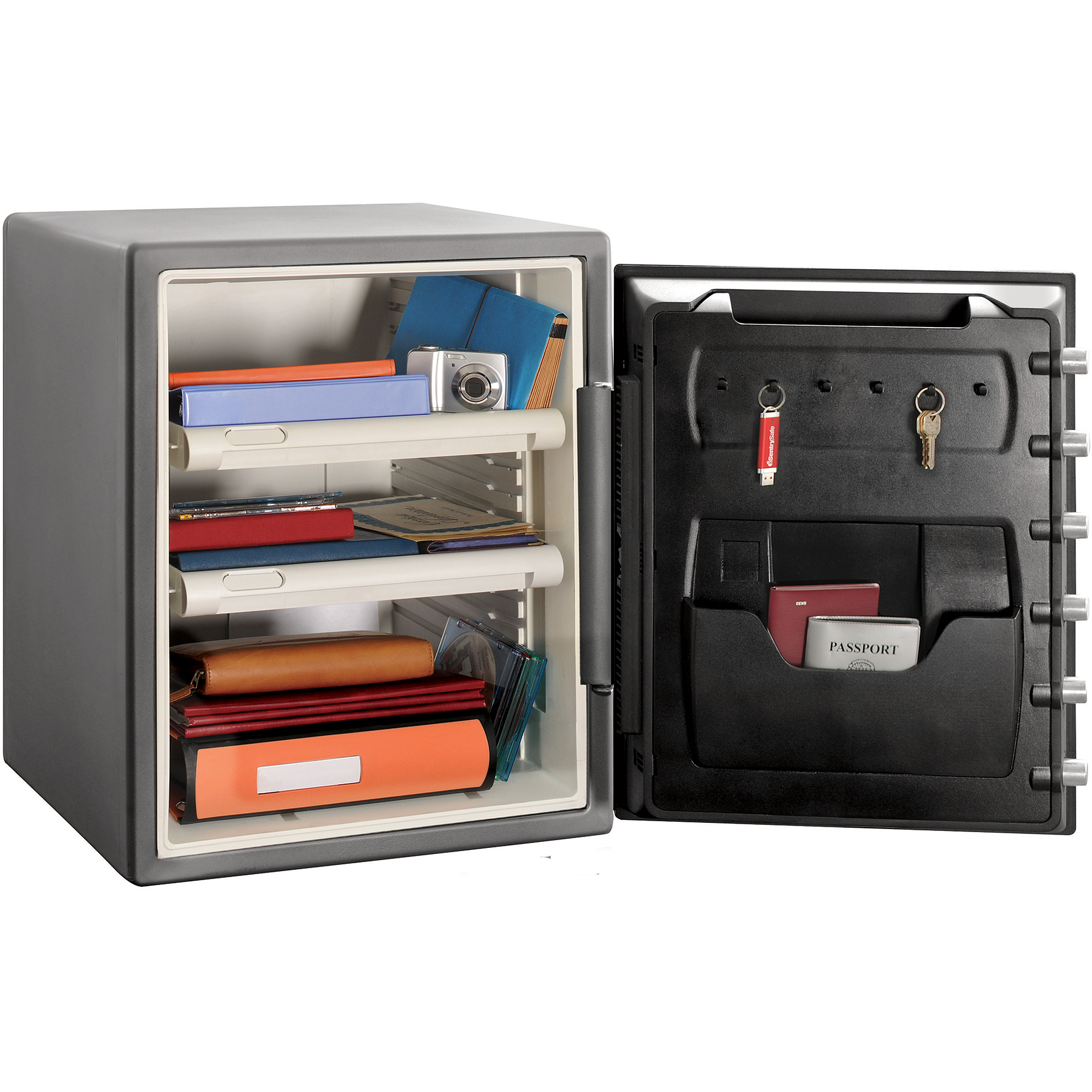 SentrySafe SF205CV Fire-Resistant Safe with Combination Lock 2 0 cu ft