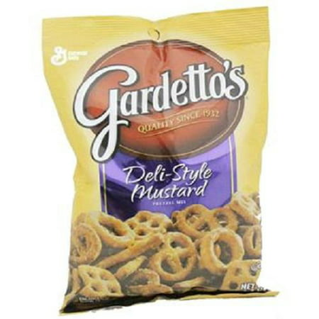 Product Of Gardettos, Deli Style Mustard Pretzel, Count 7 (5.5 oz) - Snacks / Grab Varieties & Flavors