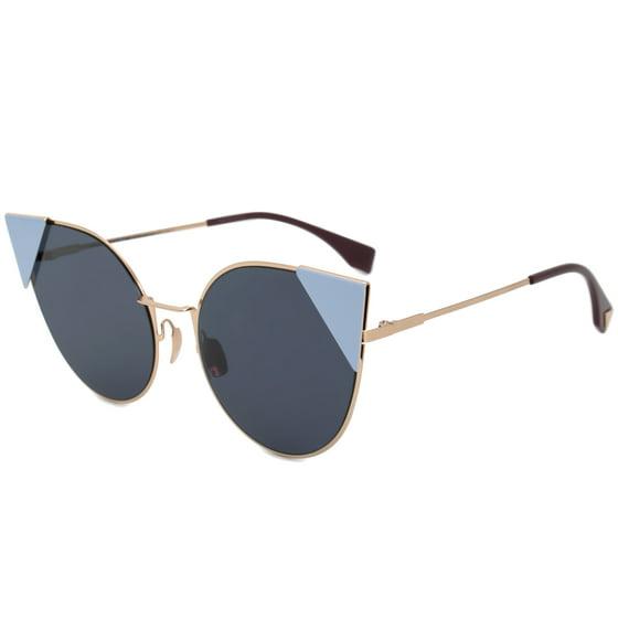 8df309af6951 fendi - sunglasses fendi ff 190  s 0000 rose gold   a9 blue mirror ...