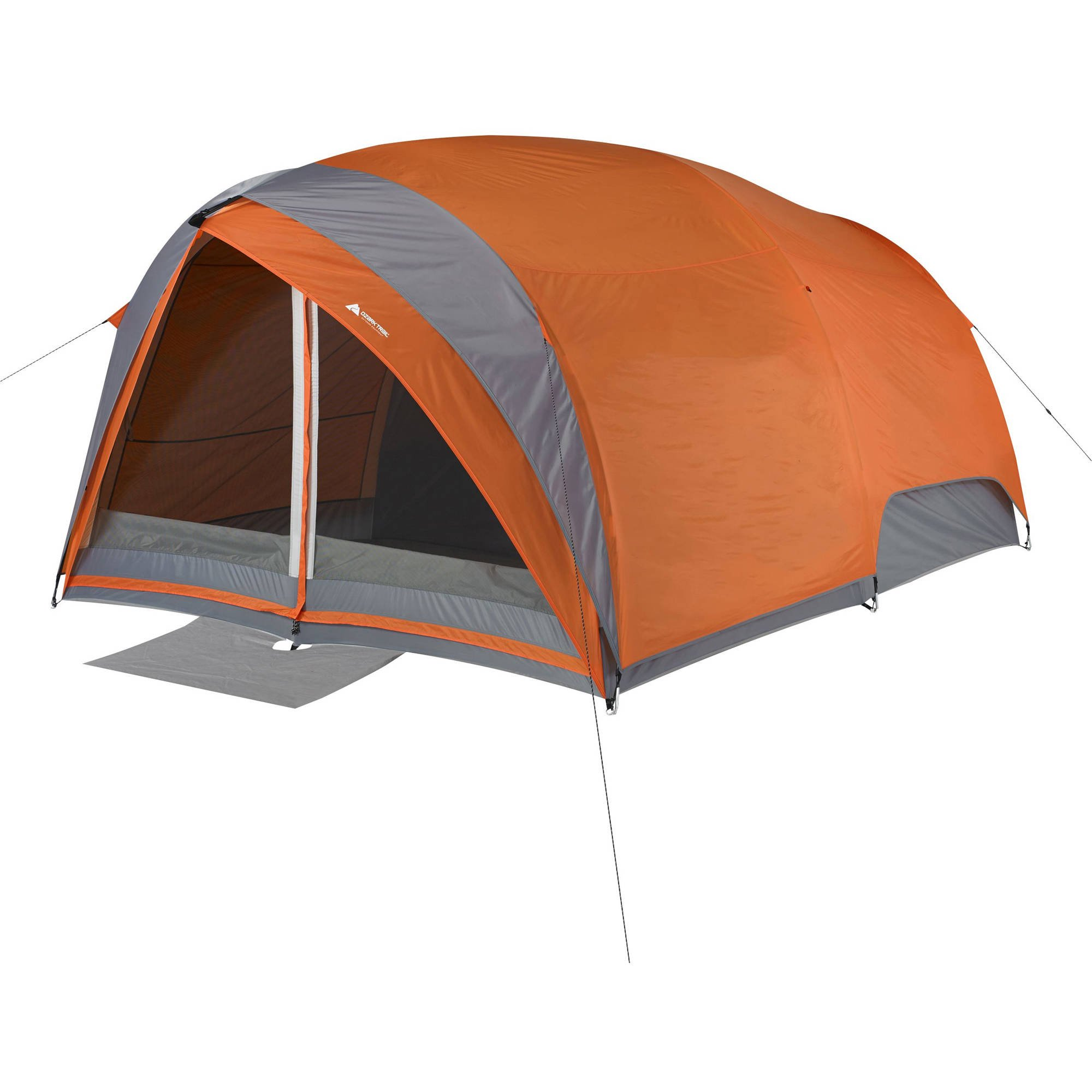 Ozark Trail 8-Person Dome Tunnel Tent with Maximum Weather Protection  sc 1 st  Walmart : ozark 8 person instant tent - memphite.com