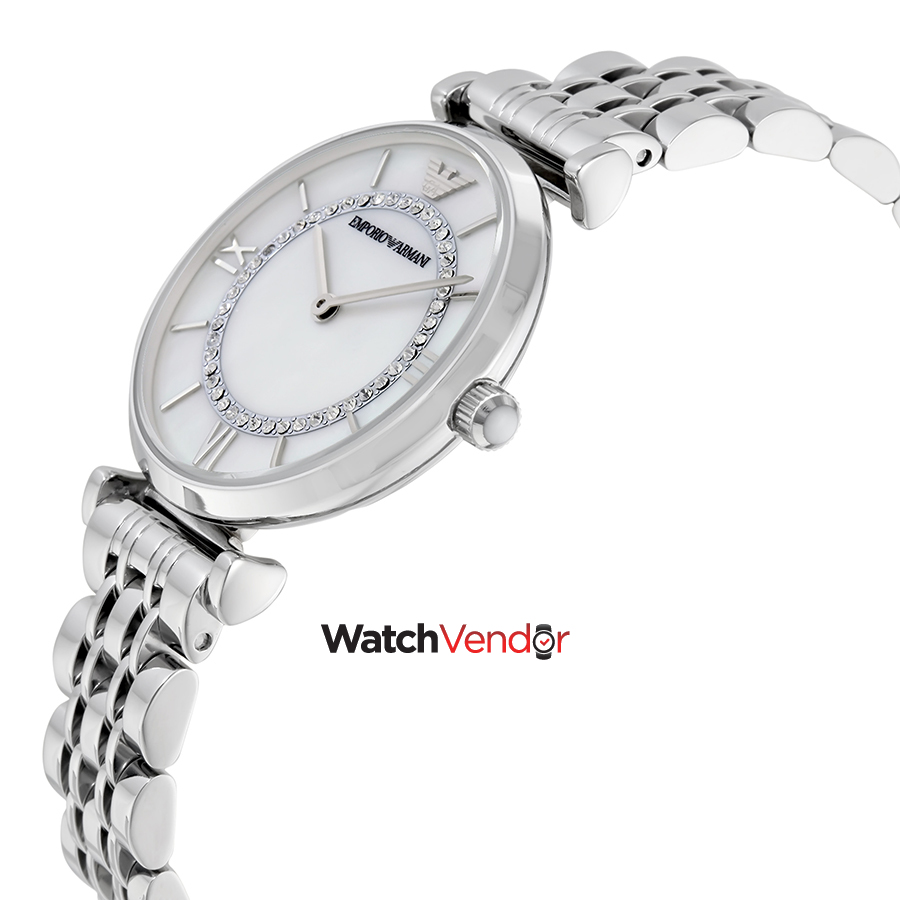 Emporio Armani Classic Mother of Pearl Dial Ladies Watch AR1908 - image 1 of 3