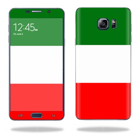 - MightySkins Protective Vinyl Skin Decal for Samsung Galaxy Note 5 wrap cover sticker skins Italian Flag