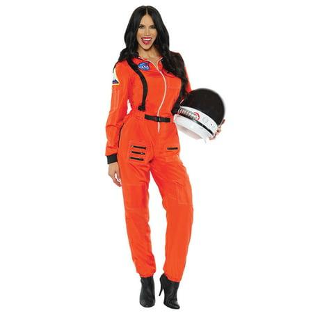Under The Weather Halloween Costume (Female Astronaut Adult Costume)