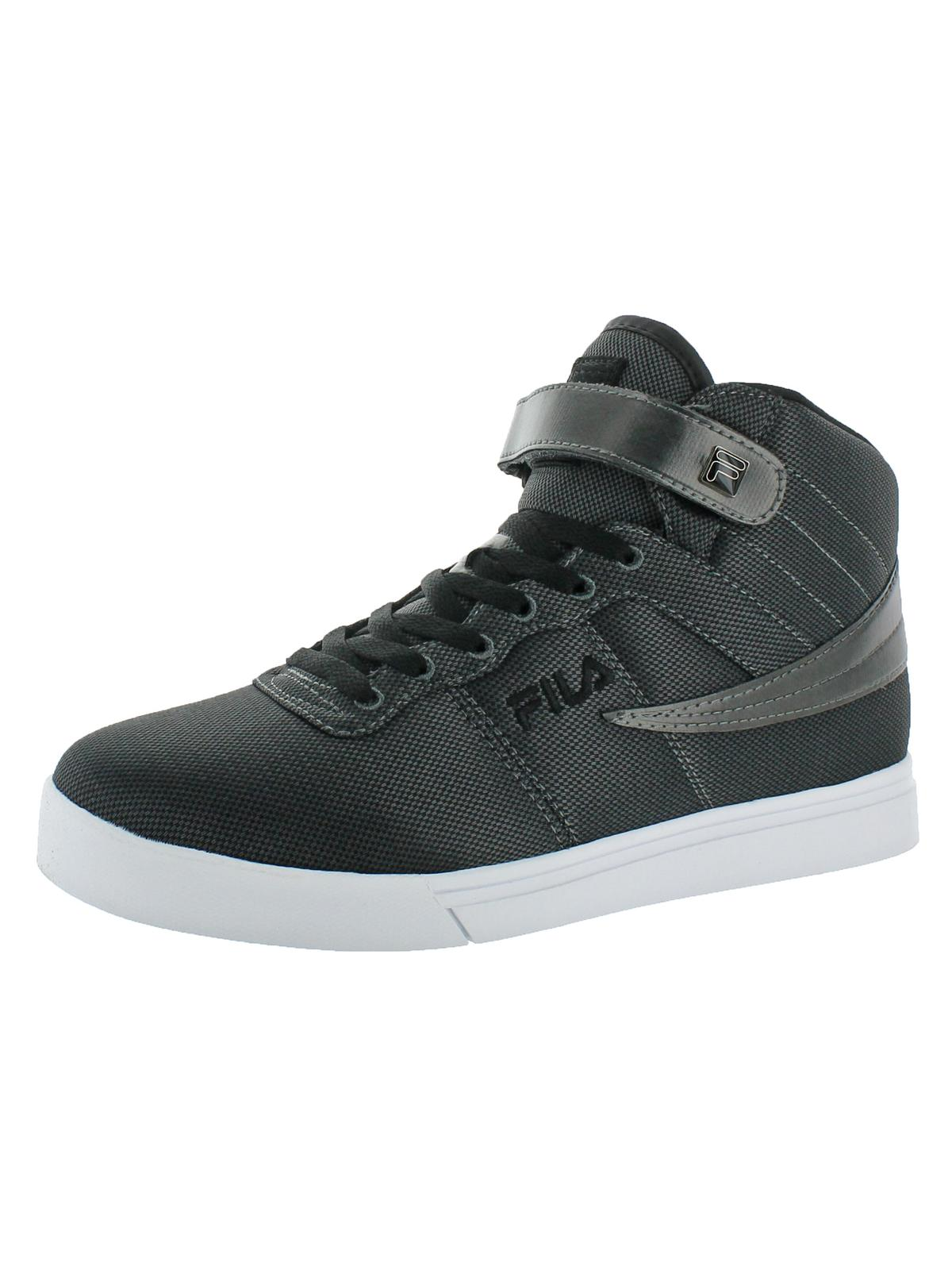 Fila Mens Vulc 13 MP Woven Woven Patchwork High Top Sneakers by Fila