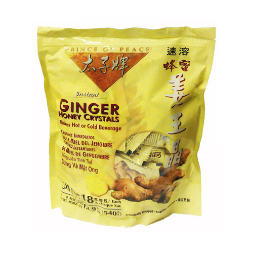 Prince Of Peace Instant Ginger Honey Crystal Packets - 30 Ea, 6 Pack