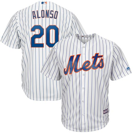Pete Alonso New York Mets Majestic Home Official Cool Base Player Jersey - White Pete Maravich Jerseys