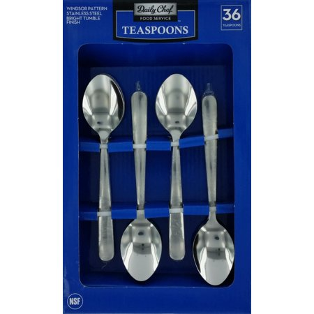 Daily Chef Teaspoons, 36 Pc