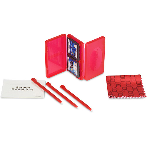 Nintendo CPFA071053-01 Dsi Clean & Protect Kit - Red