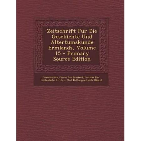 zeitschrift fur die geschichte und altertumskunde ermlands volume 15. Black Bedroom Furniture Sets. Home Design Ideas