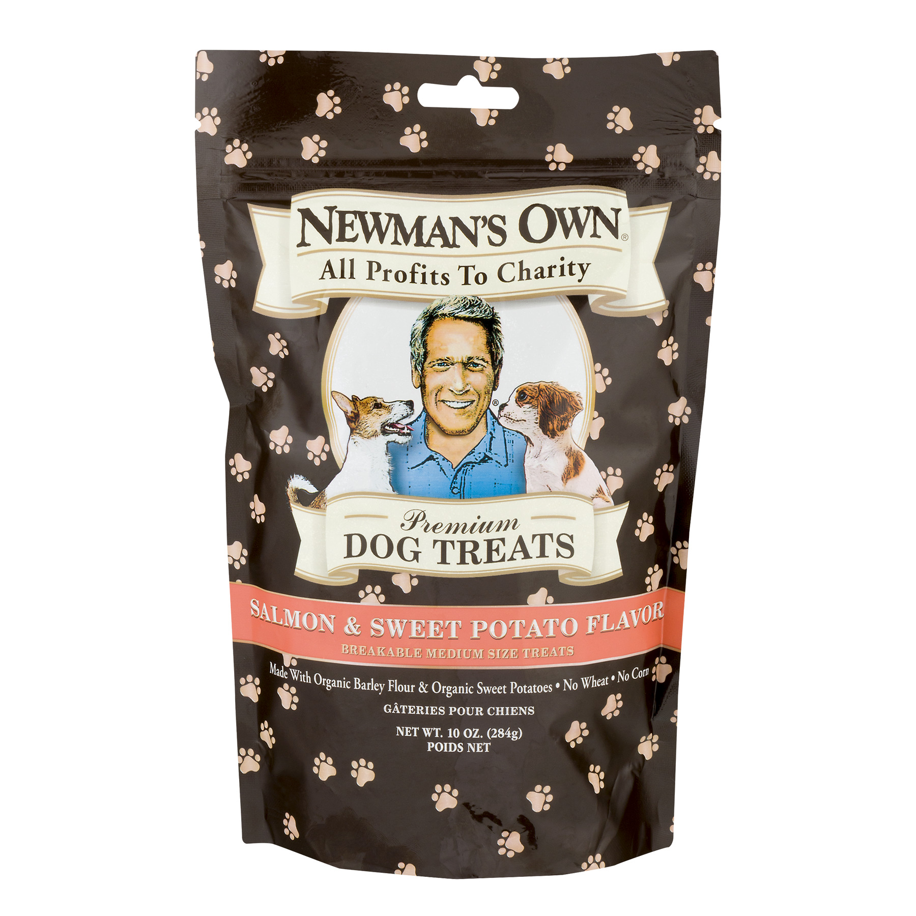 Newmans Own Dog Treats, Premium, Salmon & Sweet Potato