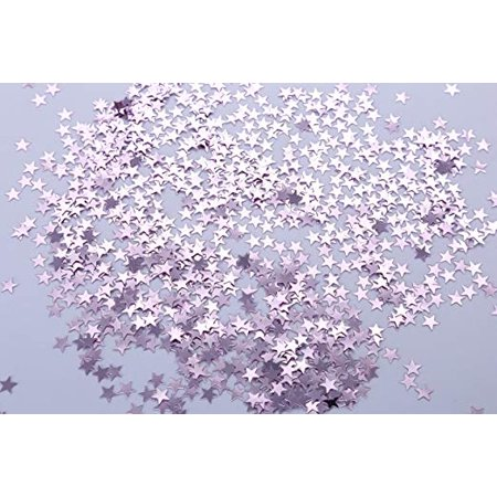 Star Glitter Table Confetti for Party, Wedding, Graduation, Decorations, DIY Crafts,Premium Nail Art, 1 Ounce (Purple)