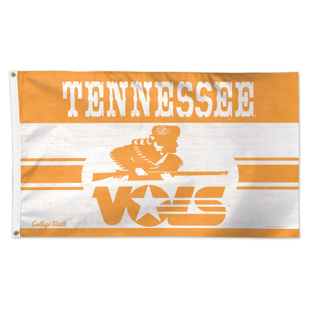 Tennessee Volunteers Official NCAA 3' x 5' Vault Deluxe Banner Flag by Wincraft