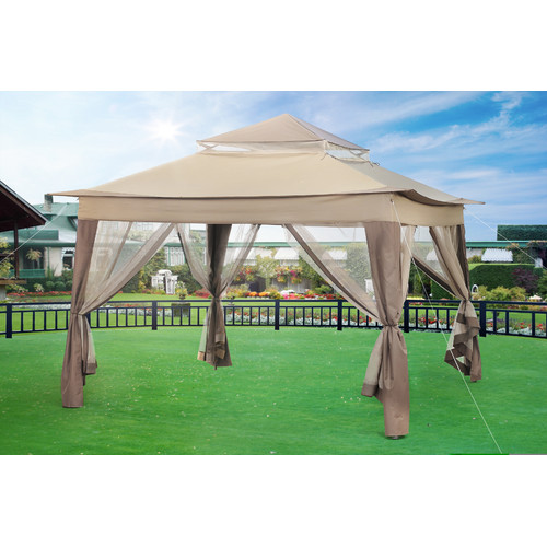 Sunjoy 10 Ft. W X 10 Ft. D Gazebo by Sunjoy