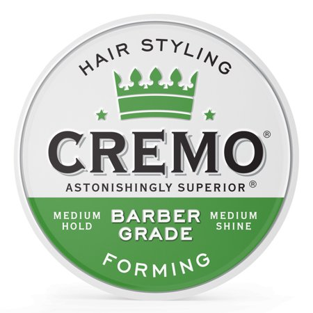 Cremo Barber Grade Hair Styling Cream, Forming, (Best Mens Hair Styling Cream)