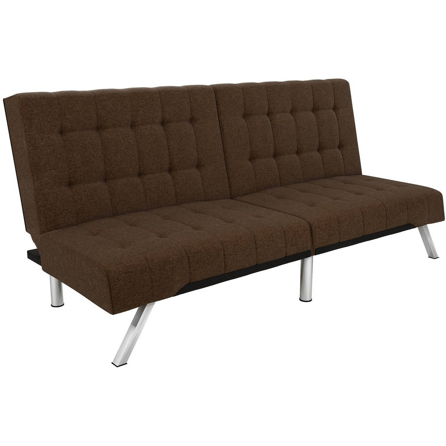DHP Emily Convertible Futon Sofa Couch, Multiple Colors by Dorel Home Products