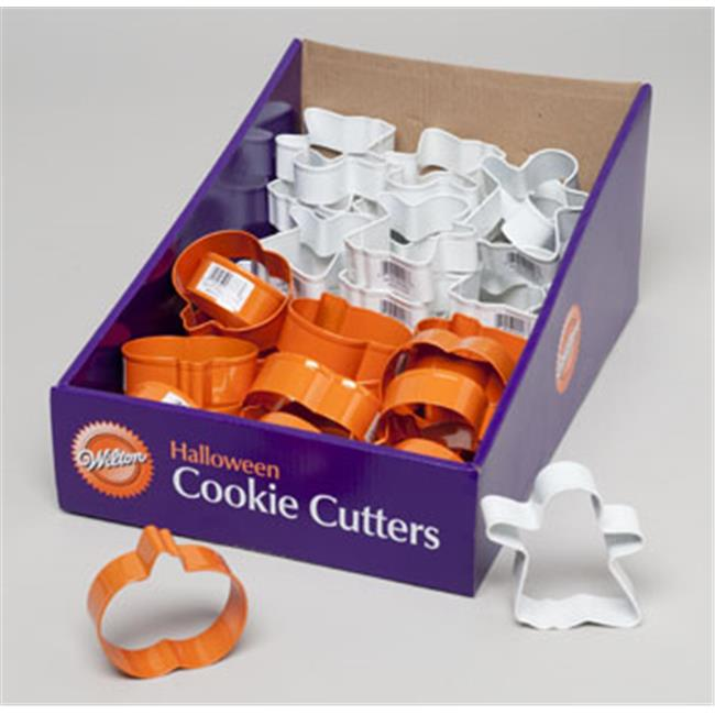 RGP 4148 Cookie Cutter 48 Pieces Halloween Counter Display