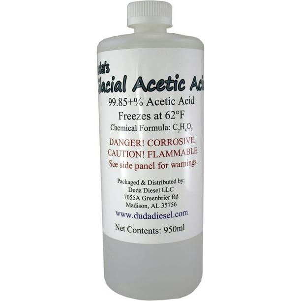 1 Quart 950ml Bottle Food Grade Glacial Acetic Acid Vinegar Weed Killer Walmart Com Walmart Com