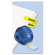 Arrow Page Flags in Dispenser  Notarize  Yellow  120 Flags-Dispenser