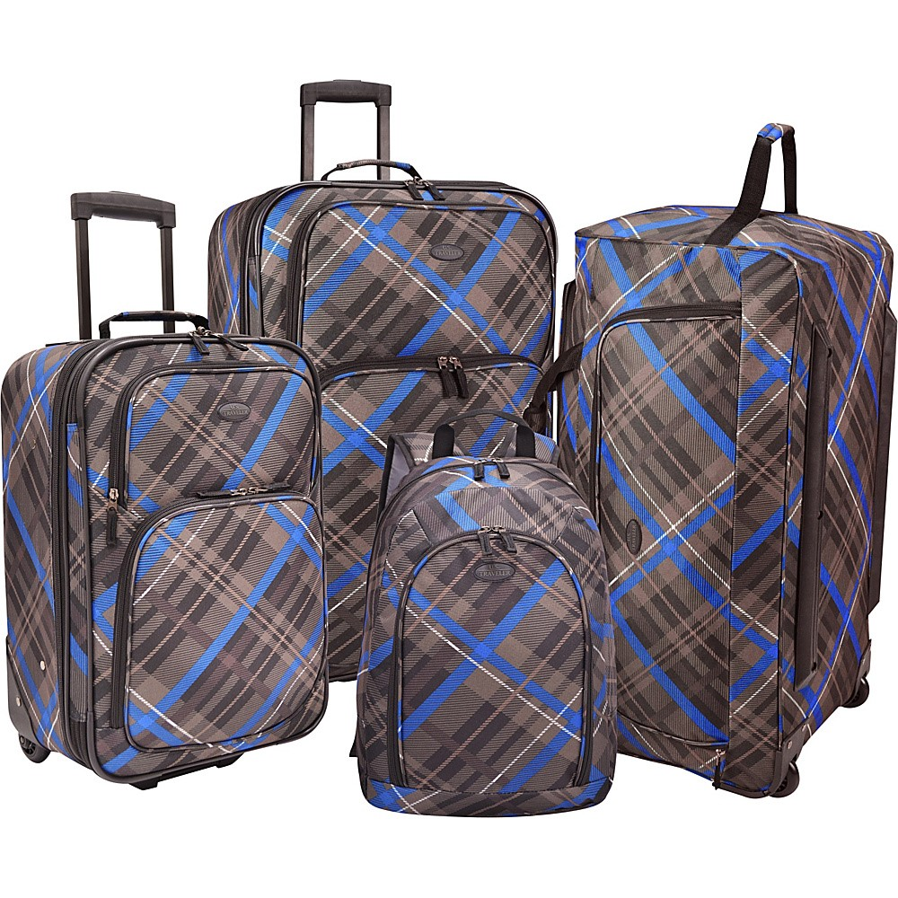 U.S. Traveler Casual 4-Pc Luggage Set