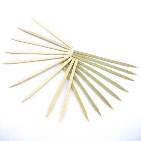 8' Premium Bamboo - BambooMN Brand - Premium Flat Style Bamboo BBQ Skewers, 7.1