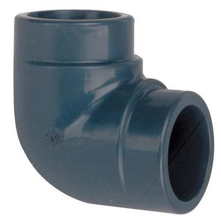 Gf Piping Systems 2  Fnpt Cpvc 90 Degree Elbow Sched 80  9808 020