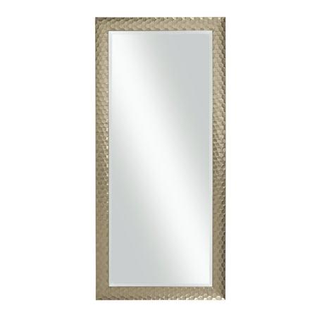 Glam Full Length Leaner Mirror, Metallic Bronze ()