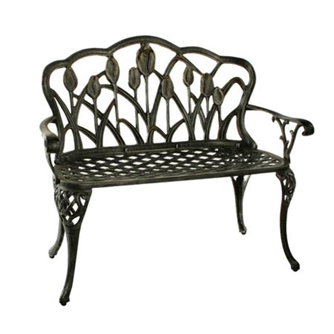 Oakland Living 1006-AP Tulip Loveseat - Antique Pewter