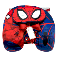 Spiderman 3 Piece Kids Travel Set w/ Eye Mask, Neck Pillow & Throw Blanket