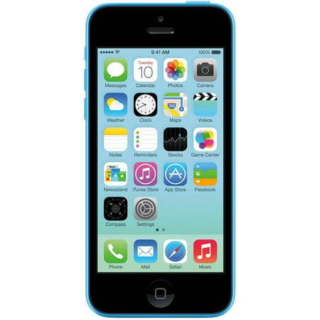 Straight Talk Apple iPhone 5C 8GB 4G LTE Prepaid Smartphone by
