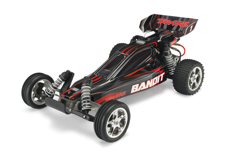 Traxxas 240541T2 Bandit Extreme Buggy, RTR, w TQ 2.4GHz, Black by TRAXXAS