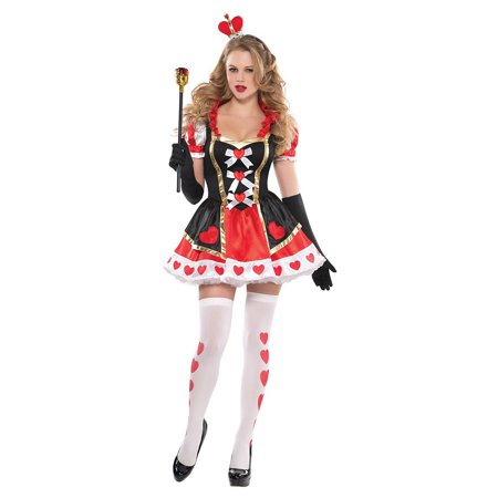 Charmed Queen of Hearts Adult Costume - - Queen Of Hearts Halloween Costume Plus Size