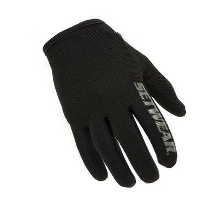SetWear STH-05-011 Stealth Glove, Black, Extra Large