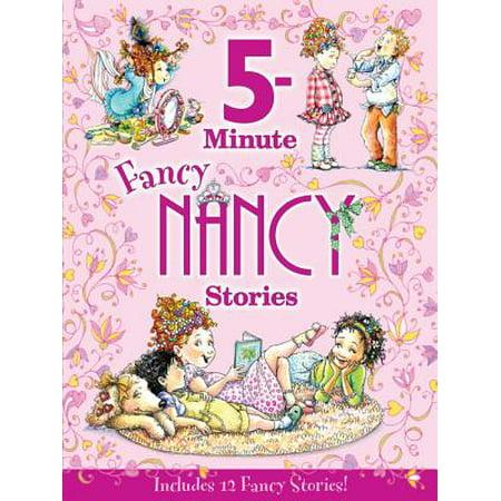 Fancy Nancy: 5-Minute Fancy Nancy Stories (Hardcover)