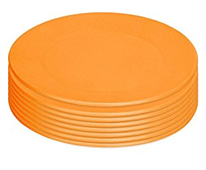 Green Eats Snack Plate, 8 Count, Green by Green Eats