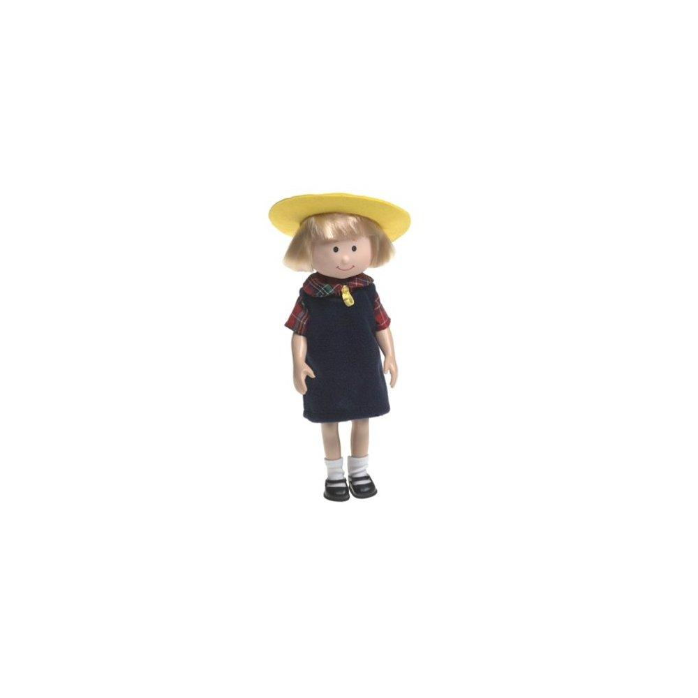 madeline and friends poseable doll - nicole