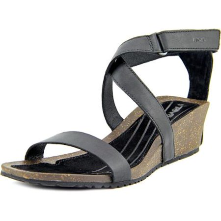 731799aff1d24d Teva - Teva Womens Cabrillo Strap Wedge 2 Open Toe Sandal Shoes ...