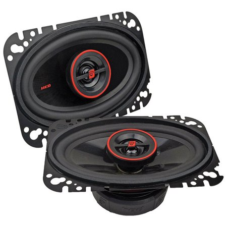"CerwinVega Mobile H746 HED Series 2-Way Coaxial Speakers (4"" x 6"", 275 Watts max)"