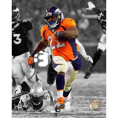 CJ Anderson 2015 Spotlight Action Photo (Anderson Autographed Photograph)