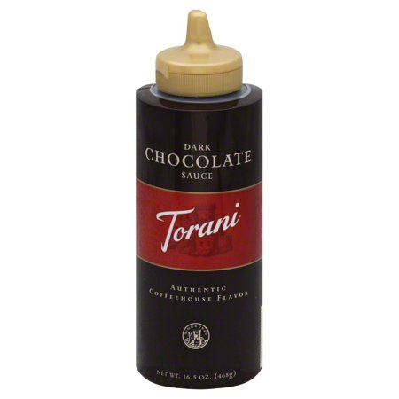 Torani Dark Chocolate Sauce, 16.5 Oz.