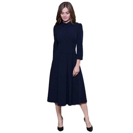 Vintage Style A-line Dress - image 5 de 5