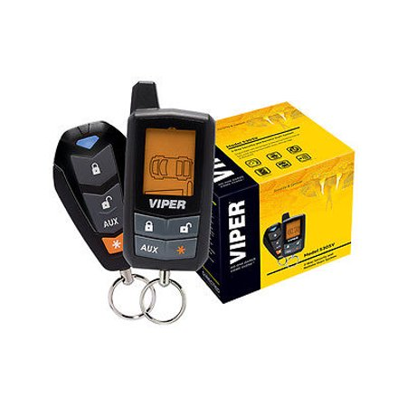 Refurbished VIPER 5305V 2 WAY LCD VEHICLE CAR ALARM KEYLESS ENTRY REMOTE START SYSTEM ()