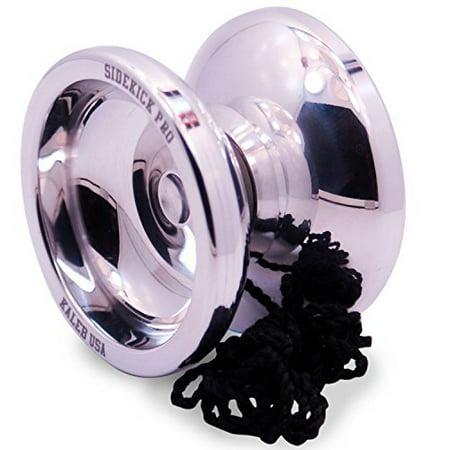 Polished Aluminum Responsive Yo-Yo Professional Sidekick Pro YoYo
