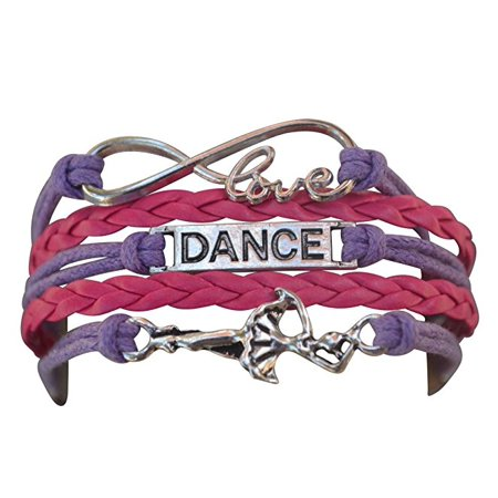 Dance Gifts For Girls (Dance Bracelet- Girls Dance Jewelry - Perfect Gift For Dance Recitals, Dancers and Dance)